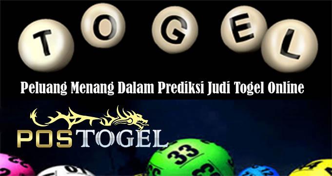 Peluang Menang Dalam Prediksi Judi Togel OnlinePeluang Menang Dalam Prediksi Judi Togel Online